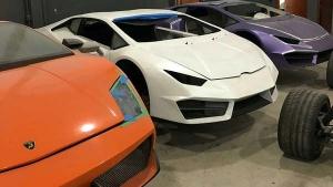 लेम्बोर्गिनी व फरारी की नकली कार बनाने वाली फैक्ट्री को पुलिस ने कराया बंद, जानें पूरा मामला