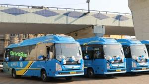 भारत सरकार राजकोट नगर निगम को देगी 50 इलेक्ट्रिक बसें