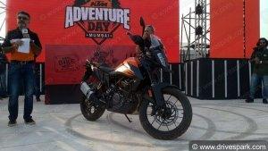 केटीएम 390 एडवेंचर को इंडिया बाइक वीक 2019 में किया गया प्रदर्शित
