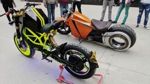 ऑटो एक्सपो 2020 में छात्रों ने पेश किया ड्राइवरलेस कार और इलेक्ट्रिक बाइक, देखें तस्वीरें