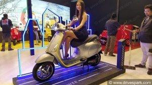वेस्पा इलेट्रिका इलेक्ट्रिक स्कूटर को भारत में जून में कराया जाएगा उपलब्ध, जाने क्या है रेंज