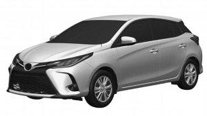 Toyota Yaris Facelift Patent Images: नई टोयोटा यारिस की पेटेंट इमेज आई सामने, देखें डिजाइन