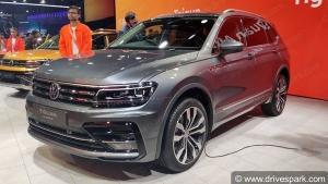 Volkswagen Tiguan Allspace Reaches Dealerships: फॉक्सवैगन टिगुआन ऑलस्पेस पहुंची डीलरशिप