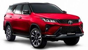 2021 Toyota Fortuner Facelift Unveiled: टोयोटा फॉर्च्यूनर फेसलिफ्ट को किया गया पेश