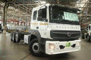 Bharat Benz Rolls Out 1000th BS6 Truck: भारत बेंज ने पूरा किया 1000 बीएस6 ट्रकों का उत्पादन