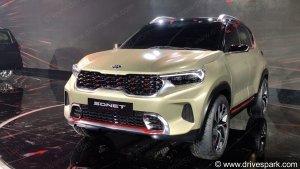 Kia Sonet Production Model Spied: किया सॉनेट प्रोडक्शन मॉडल आई नजर, देखें