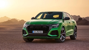 Audi RS Q8 Reached At Dealership: ऑडी आरएस क्यू8 डीलरशिप पर आई नजर, जल्द होगी लॉन्च