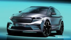 New Skoda Electric SUV: स्कोडा ने नई इलेक्ट्रिक एसयूवी का स्केच किया जारी, देखें