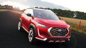 Nissan Magnite Spied Ahead Of Launch: निसान मैगनाइट टेस्टिंग के दौरान दिखी, जल्द होगी लाॅन्च