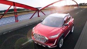 Nissan Magnite Spotted: निसान मैग्नाइट टीवीसी शूट के दौरान आई नजर, सामने आई नई जानकारी