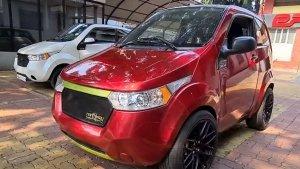 Mahindra e2o Electric Modified: महिंद्रा ई2ओ को किया मॉडिफाई, बनाया भारत की सबसे तेज कार