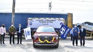 Hyundai Exports Car Through Train: हुंडई ने रेल के माध्यम से कारों का एक्सपोर्ट नेपाल तक किया शुरू