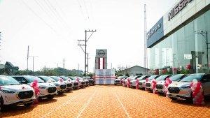Nissan Magnite 36 Units Delivered: निसान के इस डीलरशिप ने एक दिन में 36 मैग्नाईट की डिलीवरी की, देखें तस्वीरें