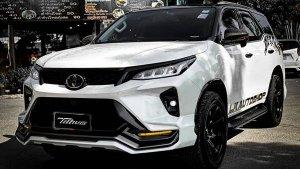Toyota Fortuner Legender Modified: टोयोटा फॉर्च्यूनर लेजेंडर को किया मॉडिफाई, देखें शानदार लुक