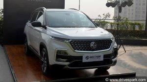 MG Motor Car Sales January 2021: एमजी मोटर ने जनवरी में बेची 3,602 कारें, बिक्री 15 प्रतिशत बढ़ी