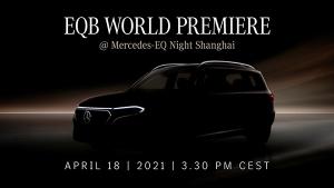 Mercedes-Benz EQB Showcase Details: मर्सिडीज ईक्यूबी को कल शंघाई ऑटो शो में किया जाएगा पेश, जानें