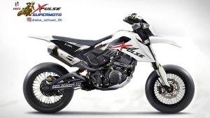 Hero Xpulse 200 Modification: हीरो एक्सपल्स 200 को दिया सुपरमोटो बाइक जैसा लुक, देखें शानदार लुक