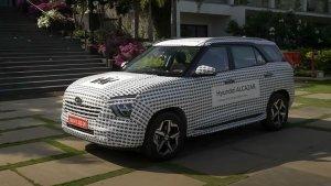 Hyundai Alcazar 7-Seater Teased: हुंडई अल्काजार एसयूवी का नया टीजर जारी, कल किया जाएगा पेश