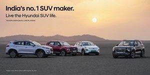 Hyundai SUV Sales Milestone: हुंडई ने पार किया 10 लाख एसयूवी बिक्री का आंकड़ा, क्रेटा व वेन्यू का बड़ा योगदान