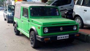 Maruti 800 Modified Into Gypsy: मारुति 800 को मॉडिफाई कर बना दिया जिप्सी, वायरल हुई तस्वीरें