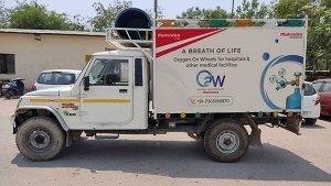 अब दिल्ली में भी शुरू हुआ Mahindra का Oxygen On Wheels अभियान, ऐसे कर रहा है मदद