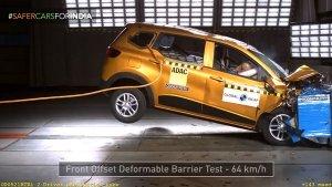 Renault Triber MPV को Global NCAP क्रैश टेस्ट में मिली 4-स्टार सुरक्षा रेटिंग, देखें वीडियो