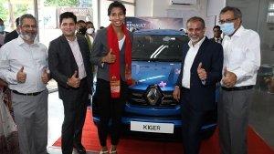 Olympic पदक विजेता बॉक्सर लवलीना बोर्गोहेन को गिफ्ट मिली Kiger SUV, कंपनी ने किया प्रोत्साहित