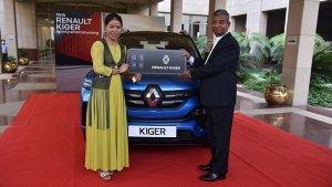 Renault ने ओलंपिक पदक विजेता बॉक्सर MC Mary Kom को दी Kiger एसयूवी, कंपनी ने दी बधाई