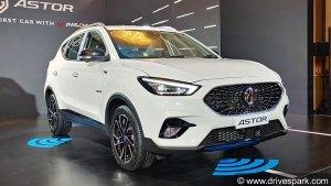 MG Astor SUV को कुल 5 ट्रिम का मिल सकता है विकल्प, अगले माह होने वाली है लॉन्च