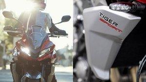 Triumph Tiger Sport 660 की नई टीजर इमेज हुई जारी, 5 अक्टूबर को होने वाली है पेश
