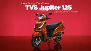 TVS Jupiter 125 भारत में 73,400 रुपये में हुई लॉन्च, जानें इंजन, फीचर्स