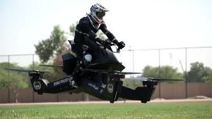 दुबई पुलिस को मिली हवा में उड़ने वाली बाइक, जल्द होगी दस्ते में शामिल