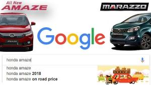 गूगल पर सर्च (ट्रेंडिंग) होने वाली 2018 की टॉप 10 कारें