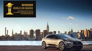 जगुआर I-Pace ने जीता 'वर्ल्ड कार ऑफ द ईयर' का खिताब