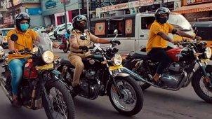 इस महिला ऑफिसर ने खरीदी रॉयल एनफील्ड की यह शानदार बाइक, बताया यह कारण
