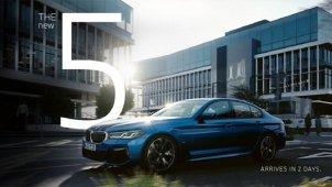 BMW 5 Series Facelift की नई टीजर इमेज हुई जारी, कल होने वाली है लॉन्च